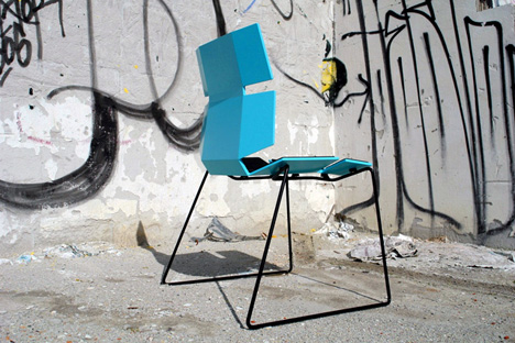 Bio Plus Chair – 100% Bio-composite by Michael Strom & Lasse Svensson