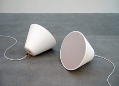 Ceramic Cone Speaker by Broberg Ridderstrale