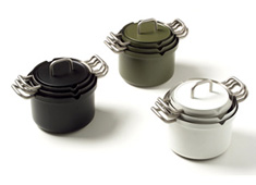 Royal VKB Pan Becomes a Strainer by Jan Hoekstra