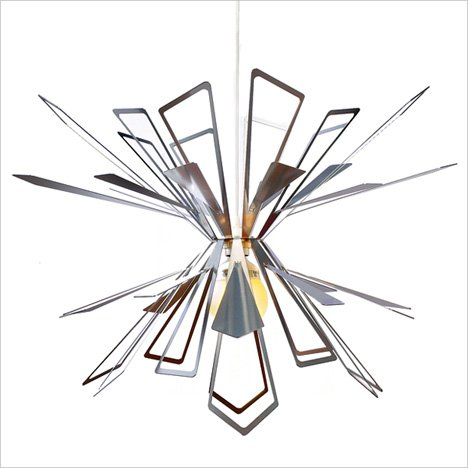 Bendant Lamp – Flat-packed Chandelier by Jaime Salm