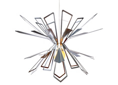 Bendant Lamp - Flat-packed Chandelier by Jaime Salm