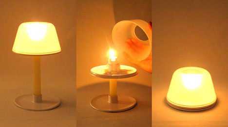 Melt Candle Shade by Stephen Reed