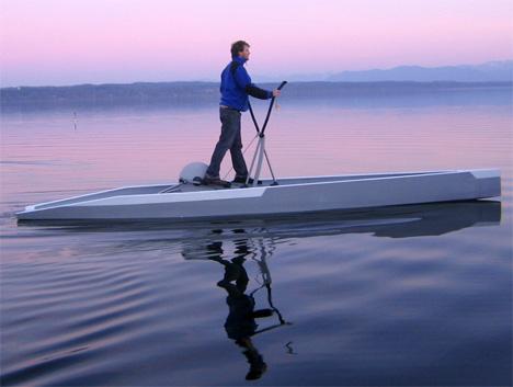 Tu Fin – Nordic Walking On Water