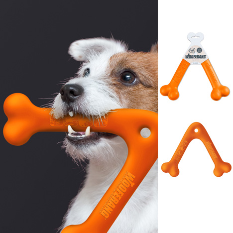 Wooferang - A Fetching Toy by Atypyk Studio » Yanko Design from yankodesign.com