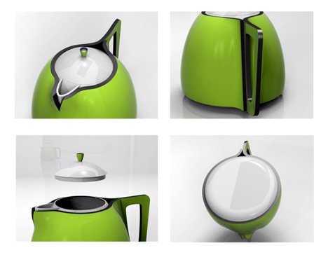 Cozy-T Teapots by Ismael Basso