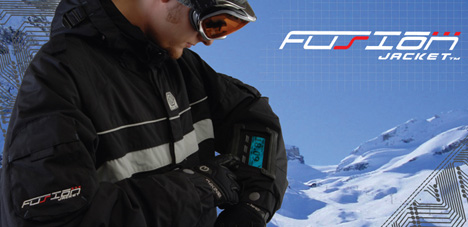 GPS Snowboarding Jacket by Nick Ellrich