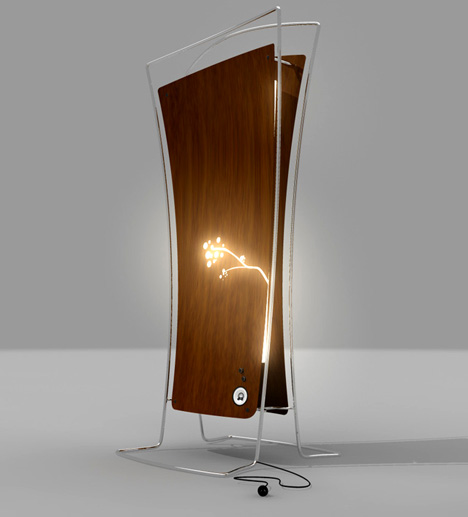 White Noise Lamp for Ill & Elderly by Shane Crozier