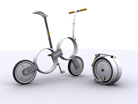 'One' – Folding Bicycle by Thomas Owen