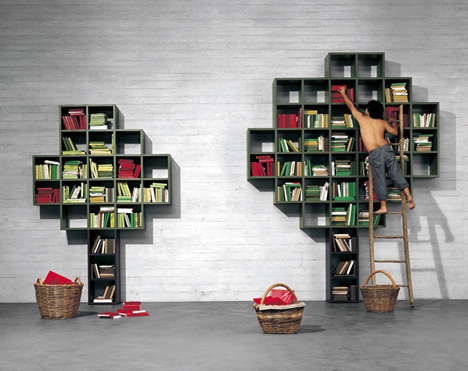Book – Open Shelving System by Daniele Lago