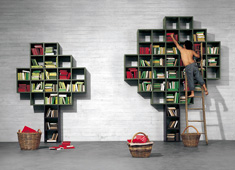 Book - Open Shelving System by Daniele Lago