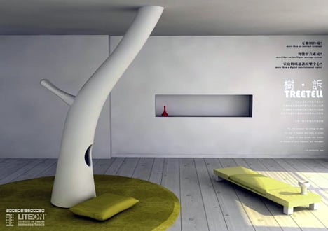 TreeTell – Tree In A Living Room by Shanfan Huang