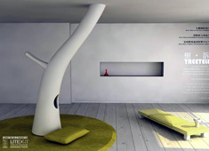 TreeTell - Tree In A Living Room by Shanfan Huang