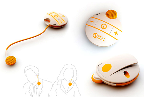 Clipset – Bluetooth Headset by Matthias Lange