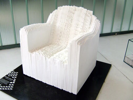 Soundwave Graph Chair by Matthew Plummer Fernandez