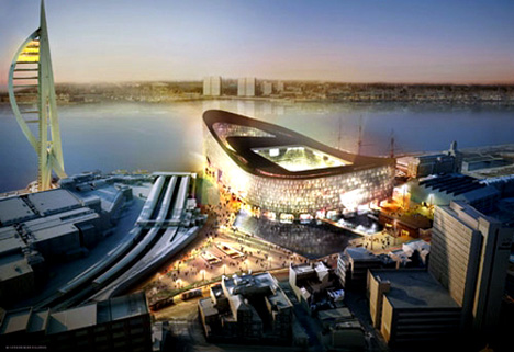 Portsmouth Football Club Stadium by Herzog & de Meuron