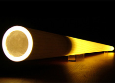 Tubo - Tree Trunk Lit From Within by Massimo Barbierato