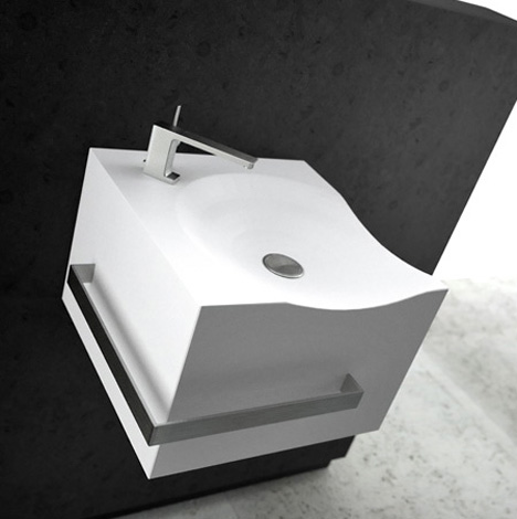 Antelope – Plug & Play Bathroom Furniture by Alex Vitet