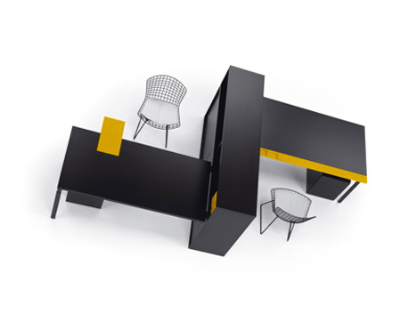 WA (Harmony In Japanese) Furniture by Piero Lissoni & Marc Krusin