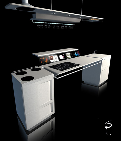 All In One Kitchen by Sebastien Poupeau