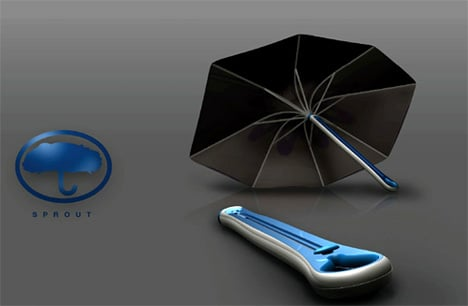 Sprout Umbrella by Matthew Swinton