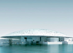 Louvre - 24,000 sq m Dome in Abu Dhabi by Jean Nouvel