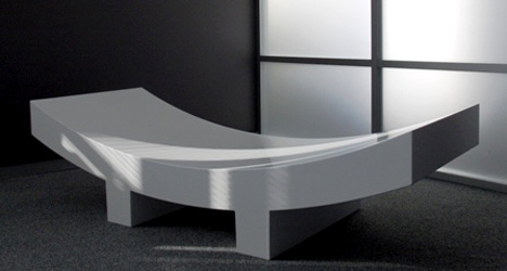 Sushi Bench by Gabor Jutasi