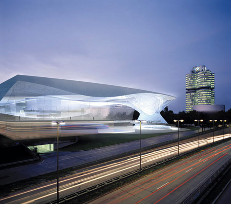 BMW Welt Opening by Coop Himmelb(L)Au