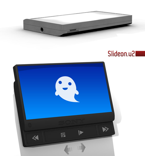 Slideon V2 MP3 Player by Ian Murchison