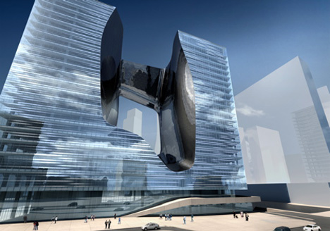 Opus Tower by Zaha Hadid