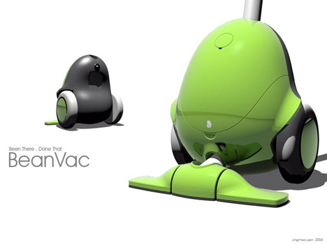 Bean Vac Vacuum Cleaner by Ying-Hao Juan