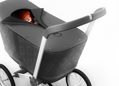 Worrell Redesigns the Classic Stroller by Dan Clements