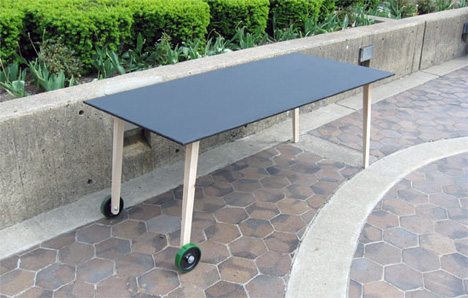 Chalkboard Dining Table by Henry Julier