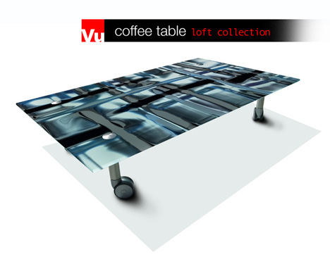 VU – Customizable Printed Table