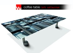 VU - Customizable Printed Table