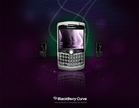 BlackBerry Curve – The New Smartphone