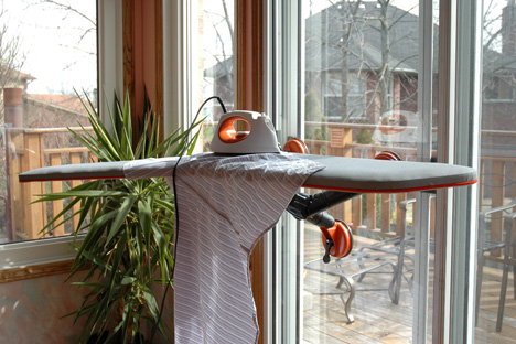 Liika – Ironing Board with Suction Cups by Tony Zakrajsek