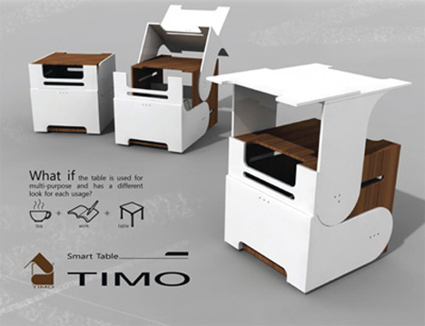 Timo – The Smart Table by Sungho Lee