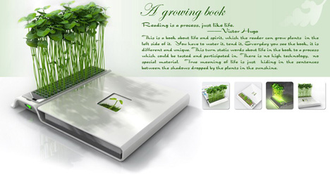 Plant Growing Book by Eric Zhang