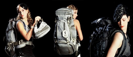 Velina Volante – Traveling in Style Backpack by Jannita van den Haak