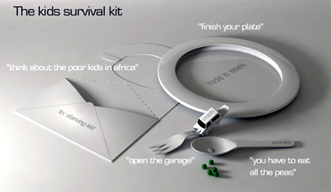 The Kids Survival Kit by David Granath