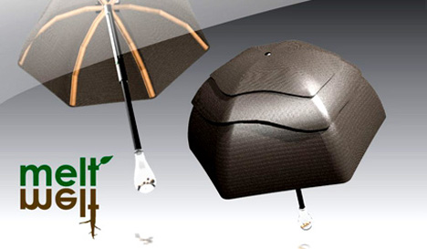 """Melt"" – Sustainable Umbrella by Chelsea McLemore"