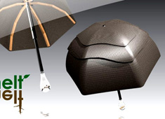 Melt - Sustainable Umbrella by Chelsea McLemore
