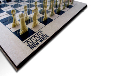 World's Lightest Chess & Checkers by Paradoxy