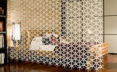 Joyn Divider Curtain Wall Art By Hiroshi Tsunoda