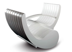 Tete-a-tete Seat by Laurie Beckerman