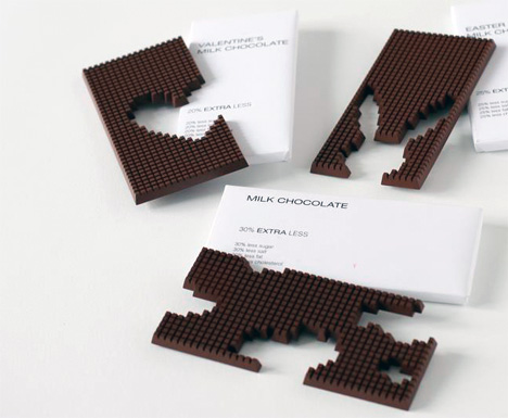 Pixel Block Chocolates With A Social Message
