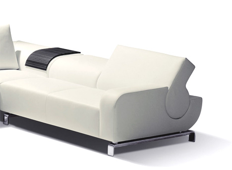 B Flat Sofa By Andreas Reichert Yanko Design