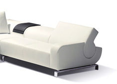 B-flat Sofa by Andreas Reichert