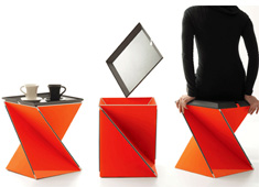 Kada - Multifunctional Table/Seat by Yves Behar