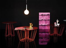 Zanotta Wire Tables by Arik Levy
